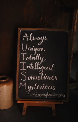 A signboard placed inside ALP Cafe' and Bistro. PHOTO: ALP CAFE AND BISTRO