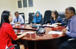 Higher Education Minister Dr Ibrahim Hassan meeting with UCSI's team. PHOTO: HIGHER EDUCATION MINISTRY