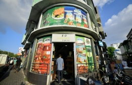 S&O Shop located in the market area of capital Male'. PHOTO: MIHAARU FILES