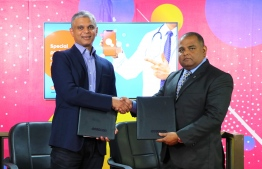 Ooredoo Maldives unveils special 'Doctor's Plan' on the occasion of Doctor's Day 2019. PHOTO/OOREDOO MALDIVES