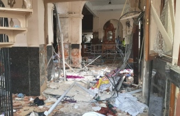 Explosions have hit three churches and three hotels in and around the Sri Lankan capital of Colombo, police said Sunday.