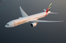 An aircraft operated by Emirates. PHOTO: EMIRATES AIRLINE