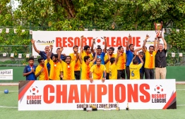Holiday Inn Resort Kandooma wins 2019 Resort League South Male Zone. PHOTO: HOLIDAY INN RESORT KANDOOMA