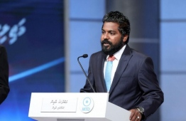 Velidhoo MP and Vice President of the Maldives Third Way Democrats (MTD) Abdulla Yameen Rasheed. PHOTO: PUBLIC SERVICE MEDIA