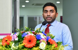 HULHUMALE HOSPITAL RADIOLOGY DEPARTMENT OPENING CEREMONY ABDULLA AMEEN PHOTO: NISHAN ALI