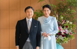 Japan's new Emperor Naruhito (L) and new Empress Masako. PHOTO/JAPANESE EMBASSY
