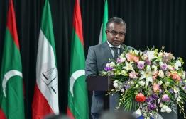Supreme Court's Chief Judge Ahmed Abdulla Didi. PHOTO: NISHAN ALI/ MIHAARU