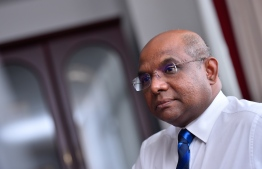 Minister of Foreign Affairs Abdulla Shahid. PHOTO: HUSSAIN WAHEED/MIHAARU