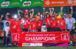United BML wins Club Maldives Cup 2019. PHOTO: MIHAARU