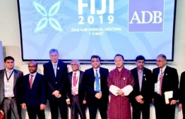 Governing Council members and CEO of Dr Motiwal of the SAARC Development Fund (SDF). PHOTO: SDF