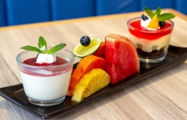 A selection of dessert options from Charcoal Cafe'. PHOTO: CHARCOAL CAFE'