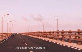 "Photograph titled ""the roads lead nowhere"". PHOTO: SHAHUDHA MOHAMED / THE EDITION"
