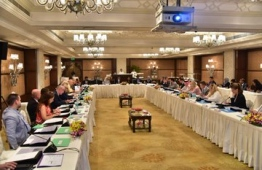 The briefing hosted by the inter-ministerial delegation in New Delhi, India. PHOTO: MINISTRY OF FOREIGN AFFAIRS