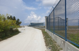 The area adjacent to the Maamigili airport which was released for expansion. PHOTO: MIHAARU FILES.