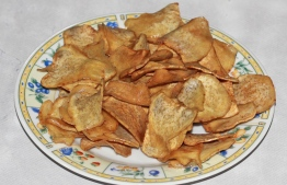 Ala Chips is a local favourite snack. PHOTO: HAWWA AMAANY ABDULLA
