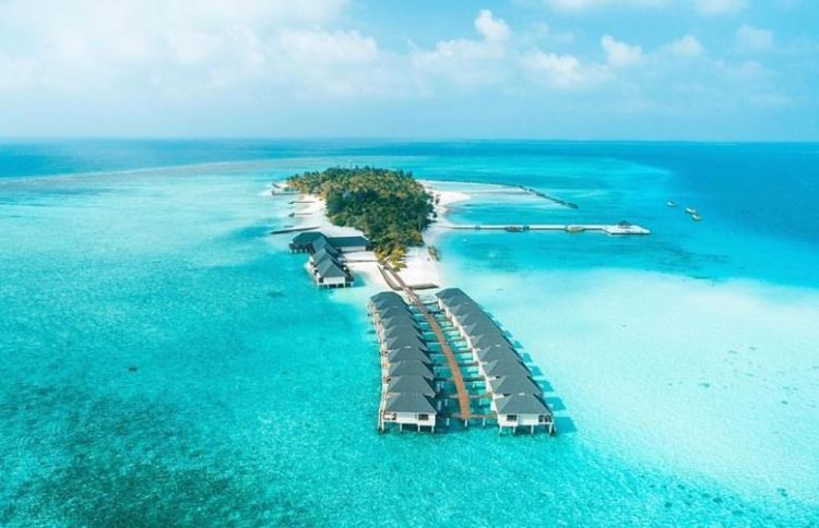 Aerial photograph of Summer Island Resort. PHOTO: SUMMER ISLAND RESORT
