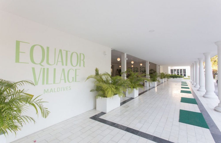 Equator Village guesthouse in Gan, Addu. PHOTO: EQUATOR VILLAGE MALDIVES