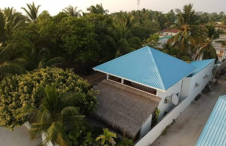Aerial view of Holiday Home Kelaa. PHOTO: HOLIDAY HOME KELAA