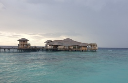 Out of the Blue by Sobah - an over-water restaurant located in Soeva Fushi. PHOTO: MIHAARU