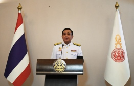 "Prayut Chan-O-Cha speaks after the royal endorsement ceremony appointing him as Thailand's new prime minister at Government House in Bangkok on June 11, 2019. Former junta chief Prayut Chan-O-Cha formally became Thailand's 29th prime minister on June 11 after a royal endorsement, completing a long transformation from soldier to civilian leader and vowing ""love, unity and compassion"". Lillian SUWANRUMPHA / POOL / AFP"