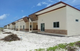 Social housing flats in Dhidhoo, Haa Alif Atoll. PHOTO: MIHAARU