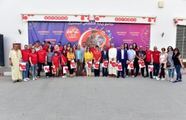 Ooredoo Algeria volunteers visits the Elderly during Eid Al Fitr. PHOTO: OOREDOO