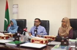 Press briefing held by the Judicial Service Commission (JSC). PHOTO: HUSSEIN WAHEEN