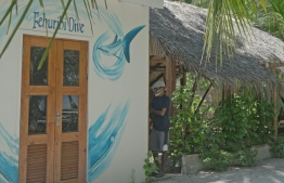 'Fehurihi Dive Centre' owned by Sendi's daughter and husband, named after their family home in Male' - the Dhivehi word for 'WhaleShark' is located at Fulhadhoo Island, Goidhoo Atoll within the UNESCO Biosphere Reserve spread across the administrative Baa Atoll, itself famous for Manta Ray and Whale Shark sightings. PHOTO: HAWWA AMAANY ABDULLA / THE EDITION