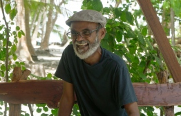 Hussein Rasheed, better known to colleagues, students and fans alike simply as Sendi, requires no introduction in the world of diving and such oceanic pursuits. PHOTO: HAWWA AMAANY ABDULLA / THE EDITION
