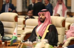 "(FILES) In this file photo taken on May 31, 2019 Saudi Crown Prince Mohammed bin Salman attends the extraordinary Arab summit held at al-Safa Royal Palace in Mecca. - Saudi Crown Prince Mohammed bin Salman accused rival Iran of attacks on two oil tankers in a vital Gulf shipping channel, adding he ""won't hesitate"" to tackle any threats to the kingdom, according to excerpts of an interview published on Sunday June 15, 2019. (Photo by BANDAR ALDANDANI / AFP)"
