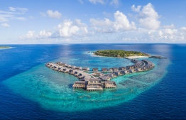 St Regis Vommuli, a resort in Maldives. Ministry of tourism is currently conducting inspections of the industry. PHOTO: MARRIOT HOTELS.