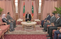 President Ibrahim Mohamed Solih appoints ambassadors to China and Saudi Arabia. PHOTO: PRESIDENT'S OFFICE