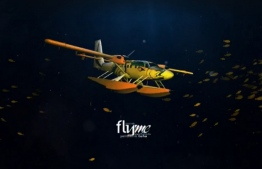 A model of the aircraft Flyme will utilize for their seaplane operations. PHOTO: FLYME