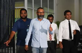 Judge Abdulla Didi summoned to Judicial Service Commission (JSC) on Monday, June 18. PHOTO: HUSSAIN WAHEED/MIHAARU
