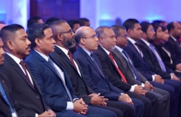 Supreme Court Judges at a reception. PHOTO: MIHAARU