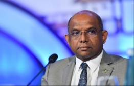 Minister of Foreign Affairs Abdulla Shahid. PHOTO: HUSSAIN WAHEED/ MIHAARU