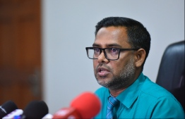 Judicial Service Commission Director Hassan Zaheen. PHOTO: MIHAARU