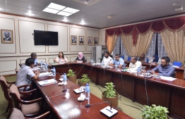 A session of the Parliament's Human Rights and Gender Committee in progress. The committee decided to launch an inquiry into the sexual abuse cases of the last 15 years. PHOTO: PARLIAMENT