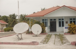 Hanimaadhoo Meteorological Office. PHOTO: HAWWA AMAANY ABDULLA/ THE EDITION