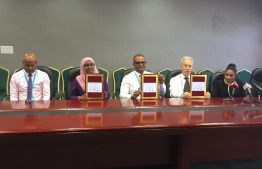 Tree Top Hospital signs agreement with Aasandha and IGMH to perform knee joint replacement surgeries for free. PHOTO/MIHAARU
