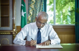 President Ibrahim Mohamed Solih has ratified the Legal Professions Bill. PHOTO: PRESIDENT'S OFFICE