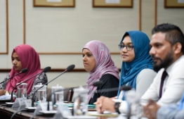 Minister of Gender, Family and Social Services Shidhatha Shareef. PHOTO: PARLIAMENT