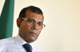 Speaker of Parliament Mohamed Nasheed alleged on Monday that Maldives National Defence Force (MNDF) had informed him days prior that Maldives Police Service was tailing him. However, MNDF denied that Nasheed was being tailed or relaying any such information to the former President. PHOTO: HUSSAIN WAHEED/MIHAARU