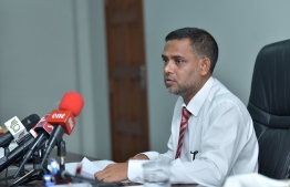 Director of the Judicial Service Commission (JSC) Hassan Zaheen. PHOTO: NISHAN ALI/ MIHAARU