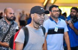 Abdulla Luthfee, one of the conspirators behind the November 3, 1988 coup d'état; he was extradited back to Maldives in July 2019. PHOTO/MIHAARU