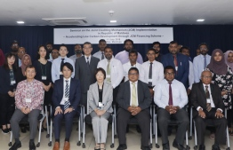 Participants of Joint Crediting Mechanism seminar posing for a picture. PHOTO: ENVIRONMENT MINISTRY