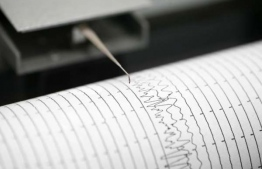 A Richter Scale measuring the magnitude of an earthquake: PHOTO: UPHIndia