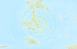 A major 7.3-magnitude earthquake hit off the remote Maluku islands in eastern Indonesia on Jul 14, 2019. (Photo: USGS)