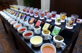 Some sample flavours of Dilmah tea. PHOTO: SIMDI