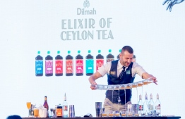 Tomek Malek, flair bartender who is a four-time WFA Roadhouse World Champion and Dilmah's representing mixologist. PHOTO: SIMDI